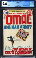 Omac 1 CGC 9.6 ! No reserve ! WOW GEM! LOOK!