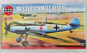 1/24 Airfix Messerschmitt Bf 109E Vintage classics model kit