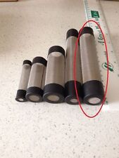 Stainless Steel Pre-Filter long mesh 16mm intake guards for Shrimp Aquarium tank