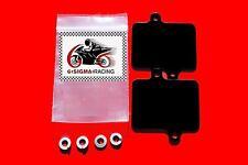 Kawasaki Ninja ZX1100 ZX11 Exhaust Emissions Plate AIS Smog PAIR Block Off Kit