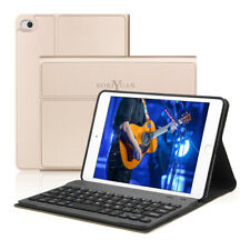 Wireless Bluetooth Keyboard Case For iPad Mini 2/1/3 PU Leather Stand Case Cover