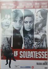 LE SOLDATESSE - DVD - LEA MASSARI-VALERIA MORICONI-ANNA KARINA-THOMAS MILIAN