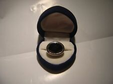 UNUSUAL  SPARKLY BLACK CUBIC SOLID SILVER RING-SIZE L-BEST QUALITY-SIGNED
