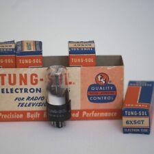 Tung-Sol 6X5GT Vacuum Tube NOS