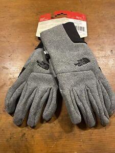 The North Face TNF Mens Apex Etip™ Gloves Size Medium Grey/Black