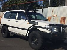 Steel Side Steps & Brush Bars to suit Toyota Landcruiser 100 Series IFS 98-07