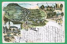"""AK lito """"Saluti da Geyersdorf"""" in caso di Anna Berg-Buchholz in Sassonia per 1900"""
