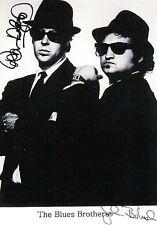 Blues Brothers Dan Aykroyd John Belushi RARE STUDIO PROMO DUEL-SIGNED RP 8x10!!!
