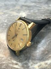 Vintage Tissot Seastar Automatic Gold Plated Wristwatch