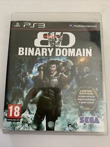 PlayStation 3 : Binary Domain Limited Edition Game (PS3)