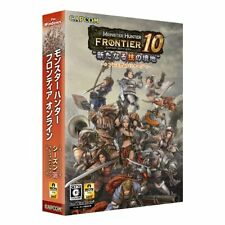 NEW PC Monster Hunter Frontier 10 Premium Package JAPAN F/S