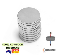 10X Super N50 10mm x 2mm Neodymium Disc Rare Earth Magnets Fridge Disk Art Model