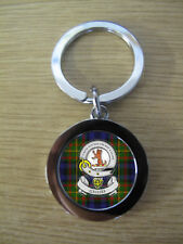 GILLIES CLAN KEY RING (METAL) IMAGE DISTORTED TO PREVENT INTERNET THEFT