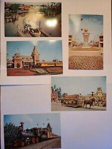 1956 DISNEYLAND Anaheim CA Postcard Bundle - NEW UNUSED - ASI