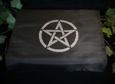 ALTAR CLOTH WITH PENTACLE DESIGN Wicca Pagan witchcraft