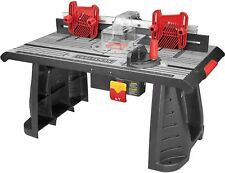 Craftsman Router Table Die Cast Aluminum Adjustable Extendable Fence Woodworking