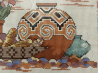 "VTG Dimensions Counted Cross Stitch Desert Landscape ""A Taste of the Southwest"""