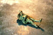 COMPOSITION ELASTOLIN WWII World War II German Wounded Lying On Ground A