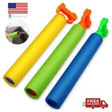 Newest Water Squirt Guns 3Pack Foam Water Blaster Shooter Summer Fun Outdoor