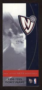 New Jersey Nets--1998-99 Season Ticket Brochure
