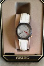 Good Cond UNIQUE Stylish Women's SEIKO 2P20-0B39 (2) JEWEL MOVE. Quartz Watch