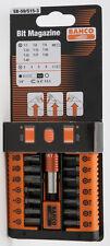 Bahco SB-59/S15-3 15 Piece Bit Set HEX/TORX