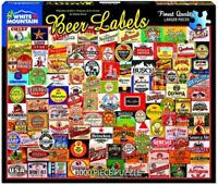 Beer Labels 1000 piece jigsaw puzzle 760mm x 610mm (wmp)