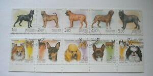 Russia 2000-2 dogs CTO