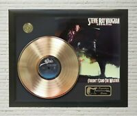 """Stevie Ray Vaughan Framed LP Record Reproduction Signature Display  """"M4"""""""