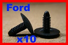 10 FORD screw type retainer trim insulation bonnet hood clip panel fastener 90D