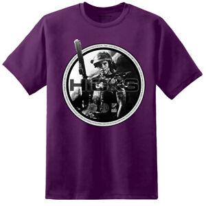 Aliens Corporal Hicks Mens T Shirt Xenomorph Nostromo Weyland Yutani Corp m41a