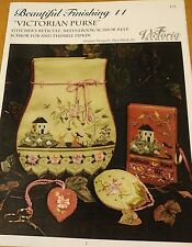 VICTORIA SAMPLER MILADY'S RETICULE CROSS STITCH CHART