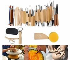 8milelake Pottery and Clay Sculpting Tools Set of 42 US Stock