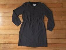 A.P.C Polka Dot Black Silk Dress