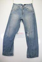 Levis Engineered Destroyed(Cod. F2104)Tg46 W32 L34 jeans usato Vita Alta Vintage