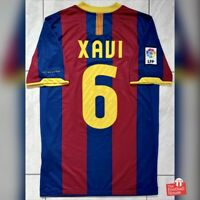 Authentic Nike Barcelona 2010/11 Home Jersey - Xavi 6. Size S, Excellent Cond.