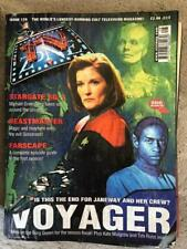 TV Zone 2000 128 Voyager Dr Who Beastmaster Farscape Outer limits Xena Stargate