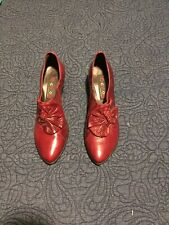 Womens Leather Italian Shoes- 7.5
