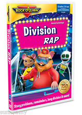 ROCK n LEARN - Division Rap - Award Winning Educational DVD (NEW)