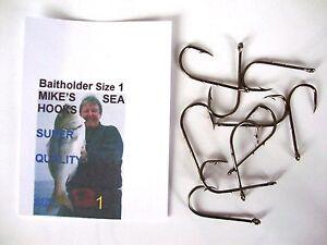size 1/0   Bream,  &  Plaice  Bait Holder  HOOKS