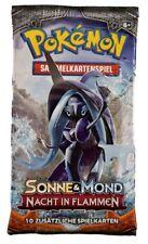 Pokemon Sonne und Mond Nacht in Flammen Booster deutsch