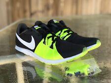 Nike Zoom Rival XC Mens Racing Track Shoe Black/Volt/White  904718-017 Size 8