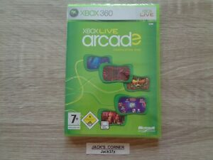 Xbox Live Arcade Compilation Disc Xbox 360 Game - NEW & SEALED