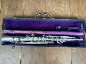 Pan American Conn manufactured Soprano fully overhauled with Pisoni Pro pad