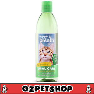 Tropiclean Oral Care Water Additive for Cats - Fights Plaque & Tarter - 473ml