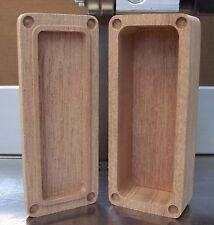 Wood Mod Box 18650 Enclosure DIY Mosfet Builds Mahogany Hammond 1590A ++ style *