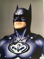 "George Clooney Autographed ""Batman"" Movie 8 X 10 Photo COA Certified Signature"