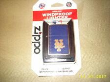 Zippo 207 Classic MLB New York Mets Street Chrome Windproof Flint Lighter