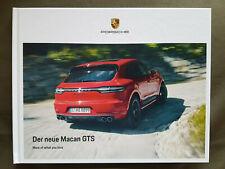 Porsche Macan GTS 2020 Hardcover Buch Prospekt Katalog Broschüre NEU + ungelesen