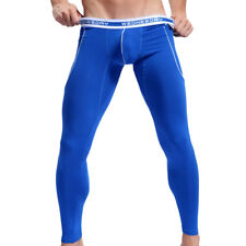 Men's Longpant Functional Underwear Long Underpants Thermal Blue WJ Size S M L